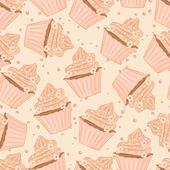 Cupcakes. — Stock Vector