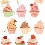 Cupcakes — Stock Vector #23214886