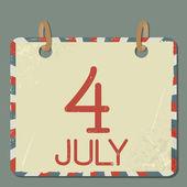 Calendar — Vector de stock