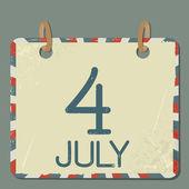 Calendar 1. — Stock Vector