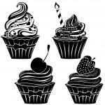 Cupcakes — Stock Vector #27894027