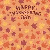 Thanksgiving Day. — Stock Vector