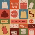 Shopping. — Stock Vector