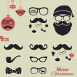 Stock Vector: Hipster Christmas