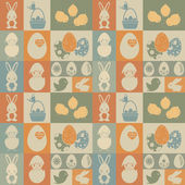 Easter seamless pattern. — Stock Vector