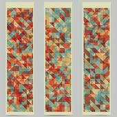 Geometric banners — Vetorial Stock