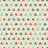 Colorful clover background. — Stock Vector