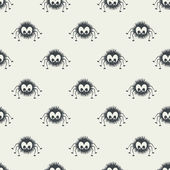 Pattern with spider — Stock vektor