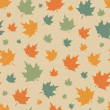 Seamless pattern with leafs. — Stock Vector #50303695