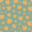 Seamless pattern with leafs. — Stock Vector #50793789