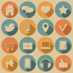 Social media icons. — Stock Vector #50793869