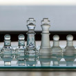 Постер, плакат: Chess Pieces Set as business concept series mentors business dragons consultants