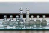 Chess Pieces / Set - as business concept series - mentors, business dragons, consultants — Stock Photo