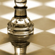 Stock Photo: Pawn chess piece - business concept series - strategy, small buisness, growth.