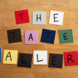 THE TATE GALLEY as a sign for The Arts, Artists, Galleries, Educational, Editorial — Stock Photo