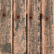 Background Texture abstract - wood, rivets, peeling paint! — Stock Photo