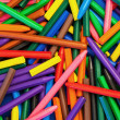 Background Texture - Color Wax Crayons random pattern abstract d — Stock Photo #20349411