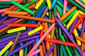 Background Texture - Color Wax Crayons random pattern abstract d — Stock Photo