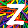 Stock Photo: Letter Z. Alphabet for education, schools, teaching.