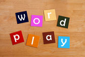Word play - For Education — Stock Photo