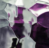 Glass abstract texture, background in purple and white. — Stok fotoğraf
