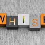 Постер, плакат: I Love Whiskey sign series for alchohol spirits and drink
