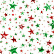 Christmas Star Field — Stock Photo