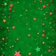 3D Christmas Stars - Stock Photo