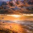 Dramatic Pacific Sunset — Stock Photo #16352515