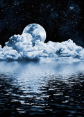 Moon Lake — Stock Photo