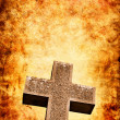 Firey Cross - Stock Photo