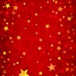 Stars on Red Background — Stock Photo