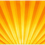 Light Rays on Paper — Stock Photo