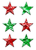 Large X-Mas Stars — Stock Photo