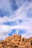 Dağ çapraz — Stok fotoğraf