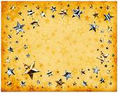 Estrellas de papel viejo — Foto de Stock