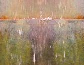 Flujo de agua fuente — Foto de Stock