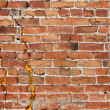 Gritty Brick Wall — Foto de Stock