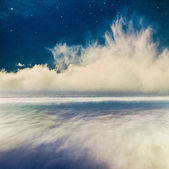 Night Seascape Fantasy — Stock Photo