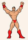 Wrestler — Stock Photo