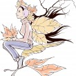 Autumn fairy - 