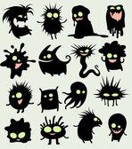 My cute strange creatures — Stock Vector