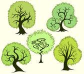Fantasy trees — Stock Vector