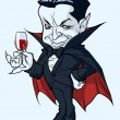Stock Vector: Count Dracula