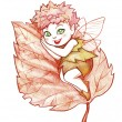 Stock Photo: Autumn fairy