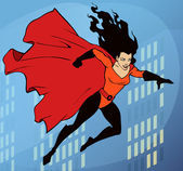 Super lady — Stock Photo