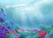 Onderwater wereld — Stockfoto