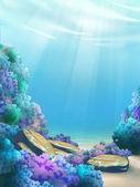 Underwater world — Stock Photo