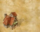 Cozy house — Stock Photo