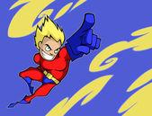 Super boy — Stock Vector
